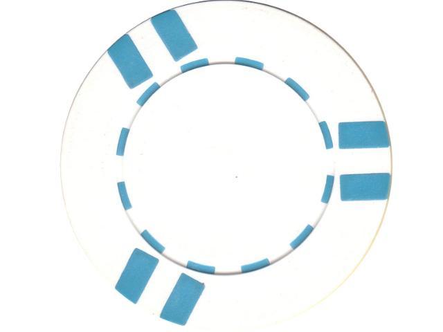 Six-Strip Chip 11,5gr Weiss