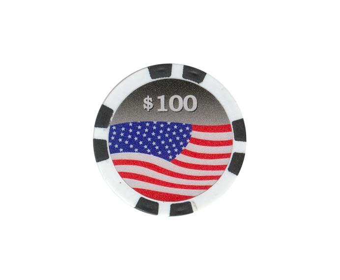 USA Chip 100$ Schwarz