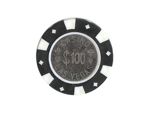 Cincinati Chip 100 Schwarz Metall