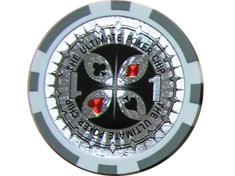 Ultimate Poker Chip 1 ca. 13g