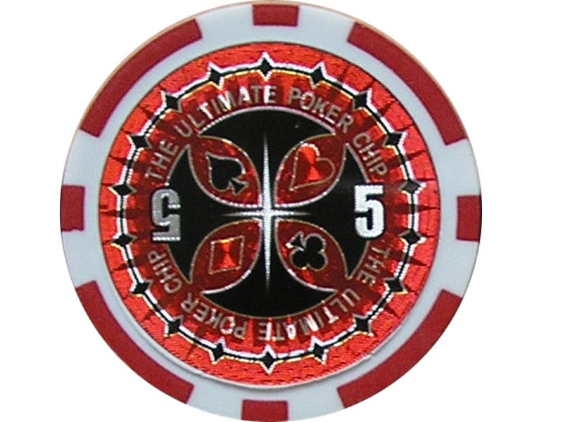 Ultimate Poker Chip 5 ca. 13g