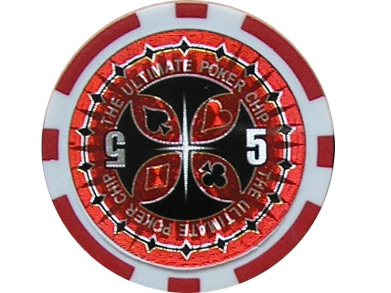 Ultimate Poker Chip 5 ca. 13g