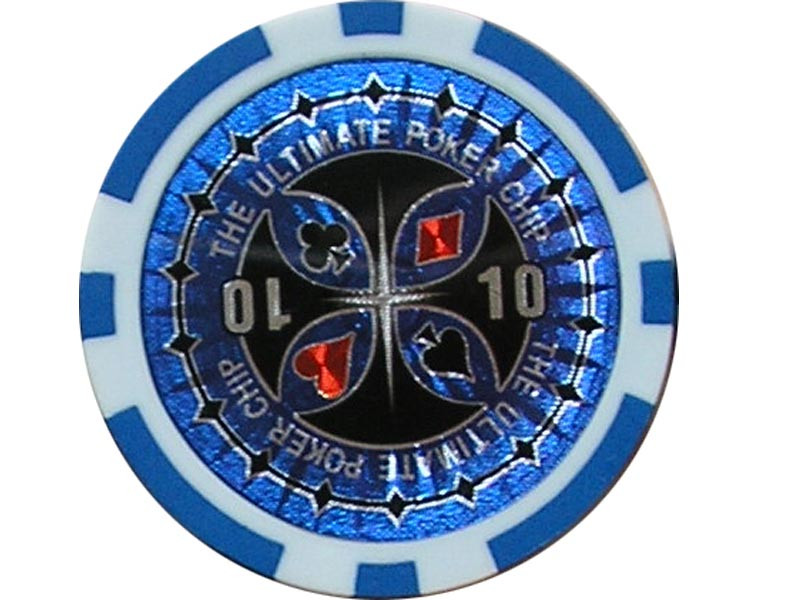 Ultimate Poker Chip 10 ca. 13g