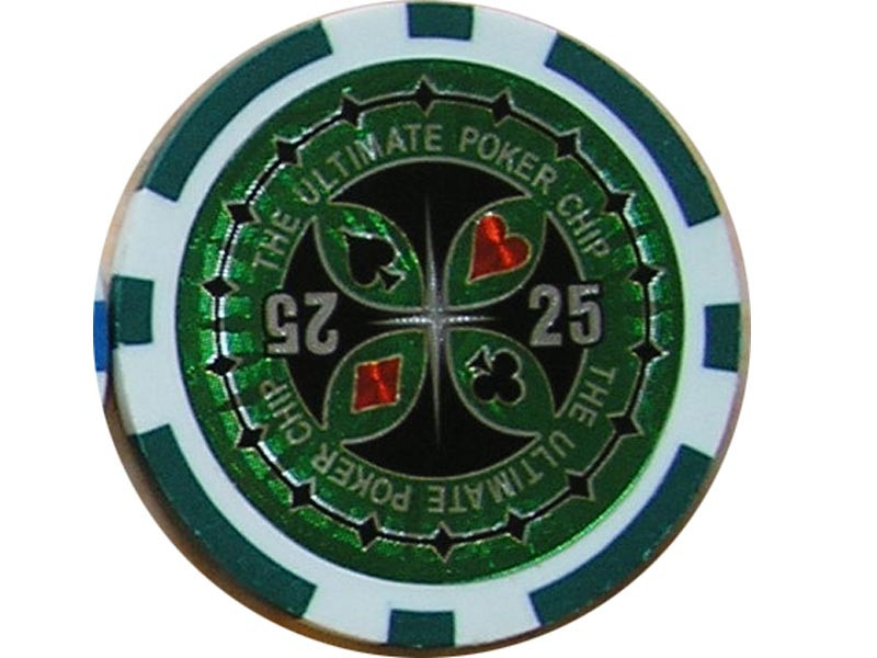 Ultimate Poker Chip 25 ca. 13g