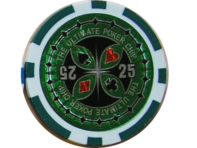 Ultimate Poker Chip 25 ca. 13g