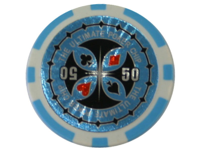 Ultimate Poker Chip 50 ca. 13g