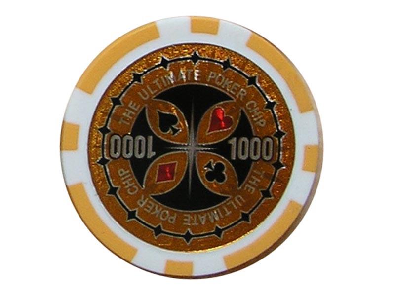 Ultimate Poker Chip 1000 ca. 13g