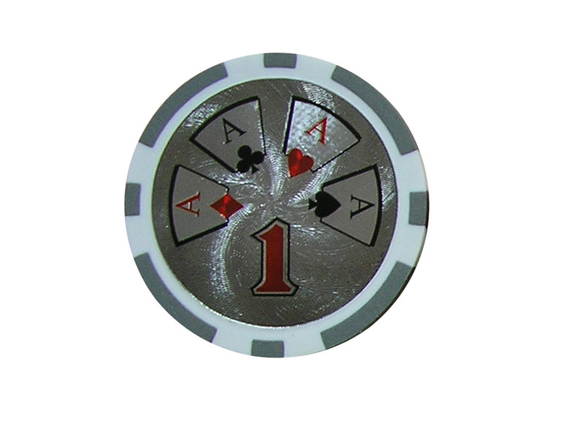 deLuxe Poker Chip 1 ca. 13g