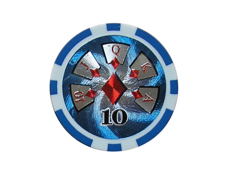 deLuxe Poker Chip 10 ca. 13g