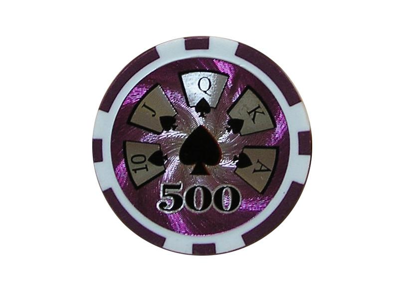 deLuxe Poker Chip 500 ca. 13g