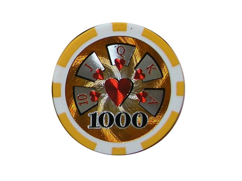 deLuxe Poker Chip 1000 ca. 13g