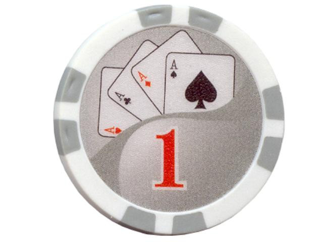 Royal Flush Chip Wert 1, 11,5gr.