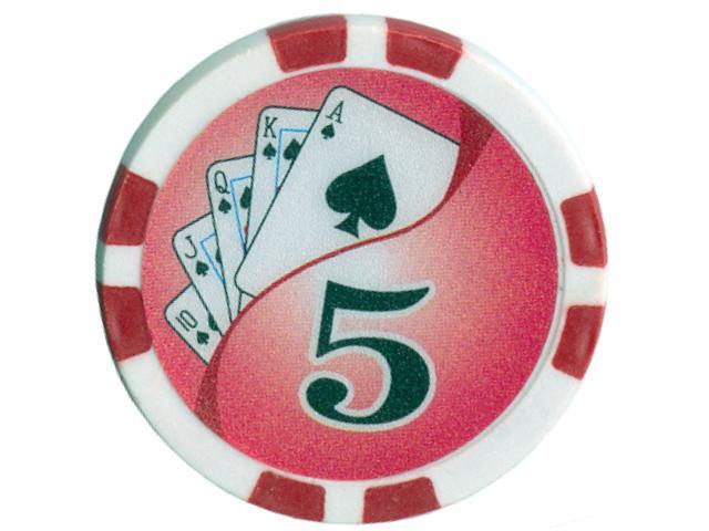 Royal Flush Chip Wert 5, 11,5gr