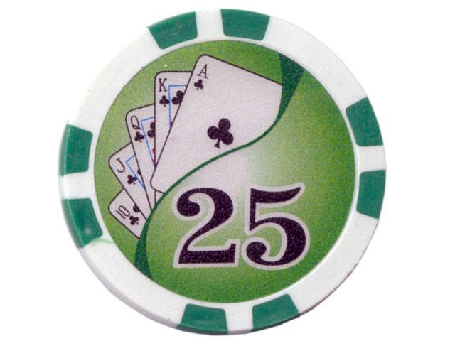 Royal Flush Chip Wert 25, 11,5gr.