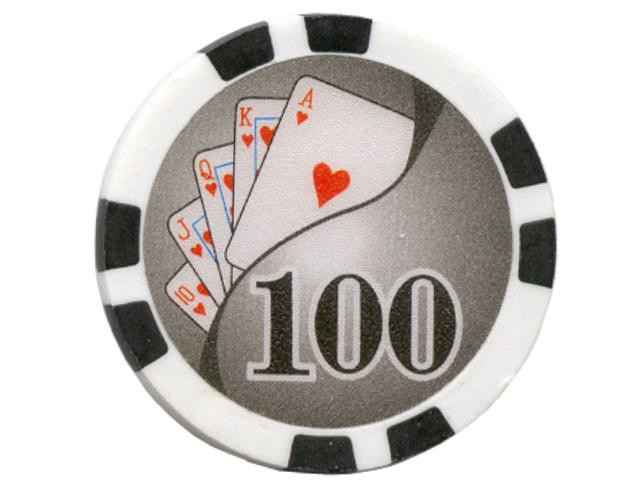 Royal Flush Chip Wert 100, 11,5gr.