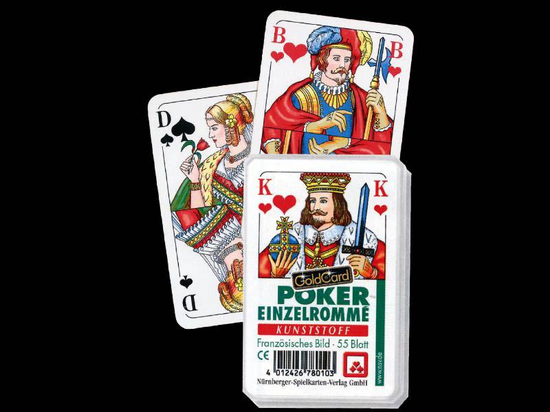 Poker / Einzelromme Karten