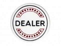 Button: Dealer Button DeLuxe