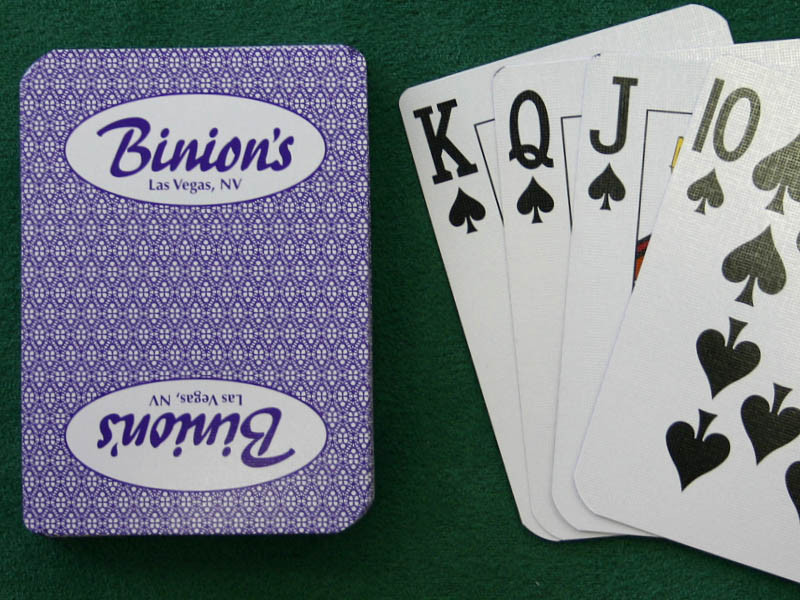 Binions Playing Cards