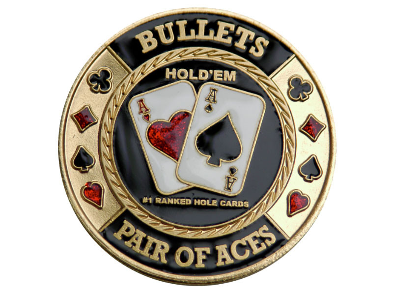 Poker Card-Guard: Bullets 2 Asse