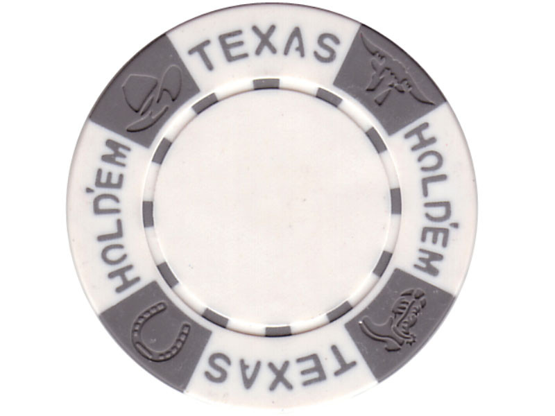11.5g TEXAS HOLD'EM Clay - Chips, weiß