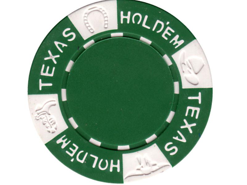 11.5g TEXAS HOLD'EM Clay - Chips, grün