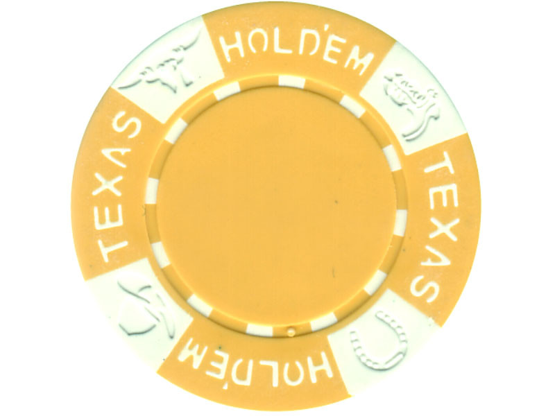 11.5g TEXAS HOLD'EM Clay - Chips, gelb