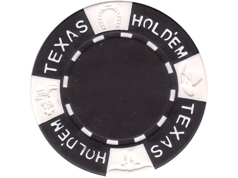 11.5g TEXAS HOLD'EM Clay - Chips, schwarz
