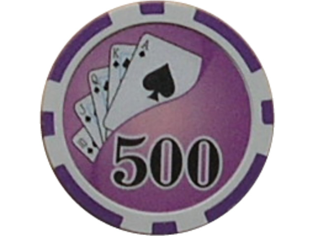 Royal Flush Chip Wert 500, 11,5gr.