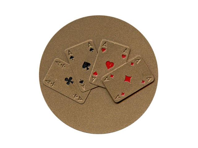 Emblem Poker Bronze