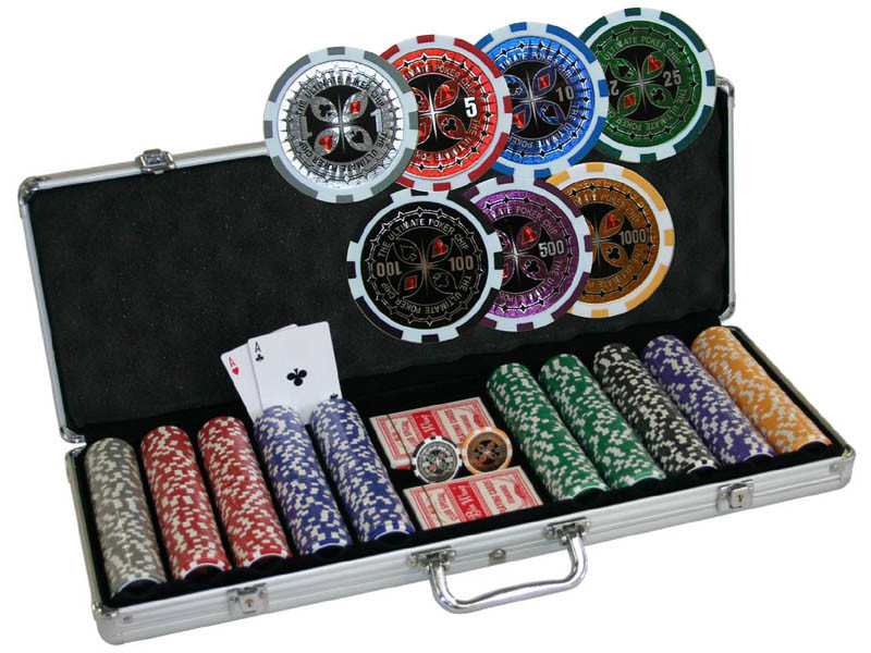 Chipkoffer Ultimate Poker Set 500 13,5g