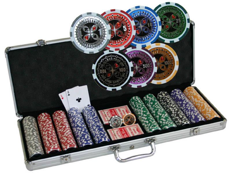 Chipkoffer Ultimate Poker Set 500 ca. 13,5g