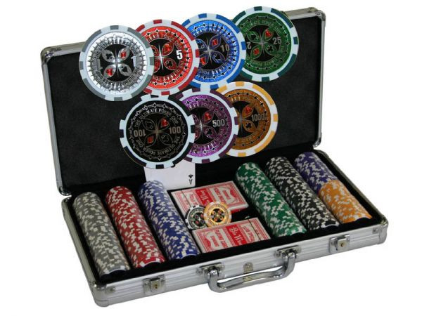 Chipkoffer Ultimate Poker Set 300, ca. 13g