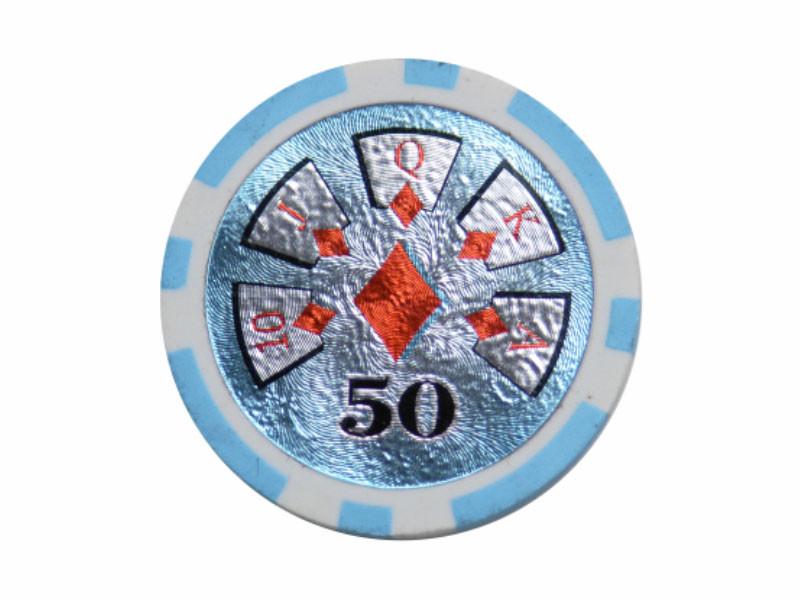 deLuxe Poker Chip 50 ca. 13g