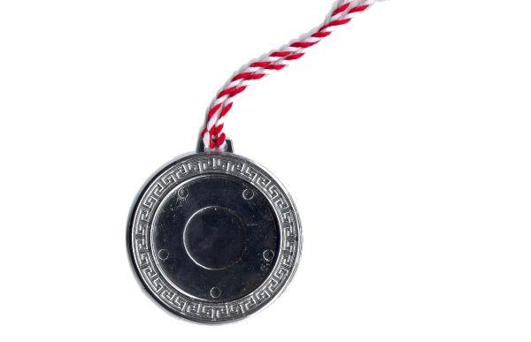 Medaille Greece Silber
