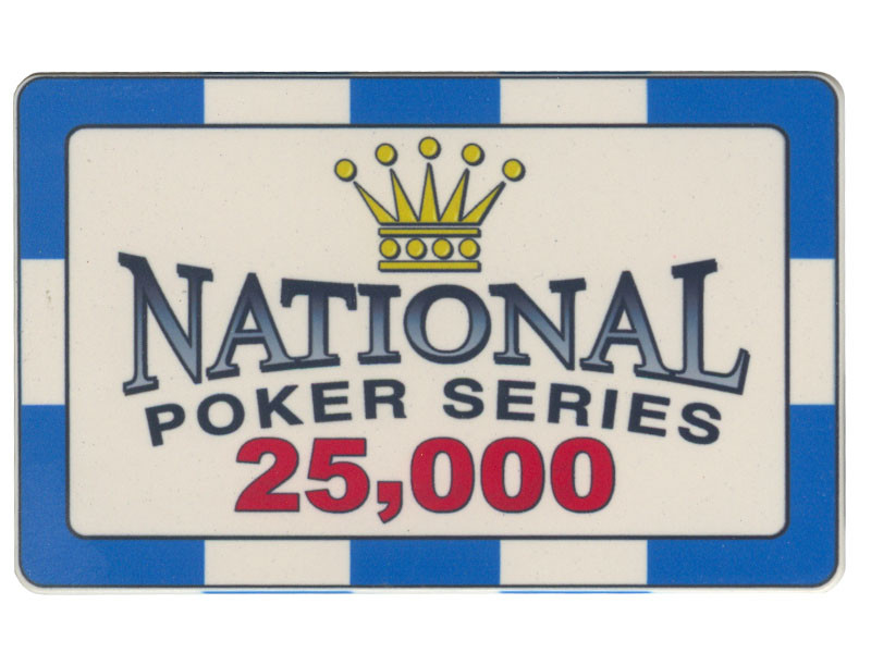 Paulson Plaque Chip National Poker Series  25000
