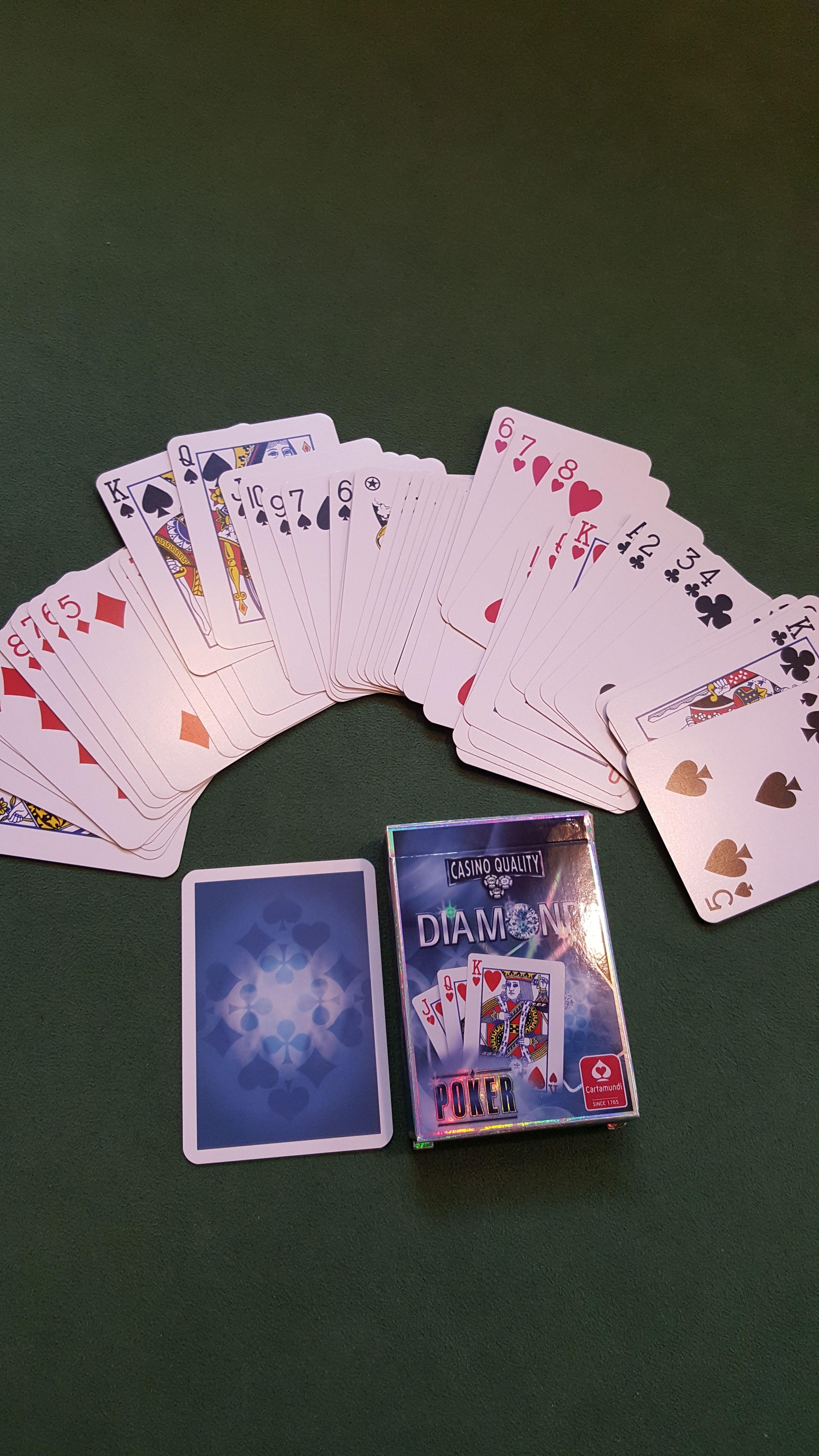 Diamond Pokerkarten Regular Face