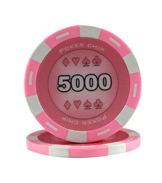 11,5g King Chips 5000er Pink