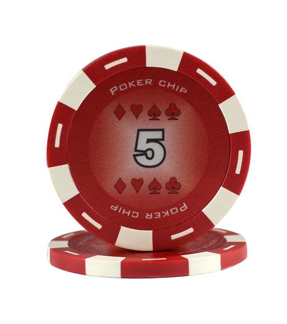 11,5g King Chips 5er Rot