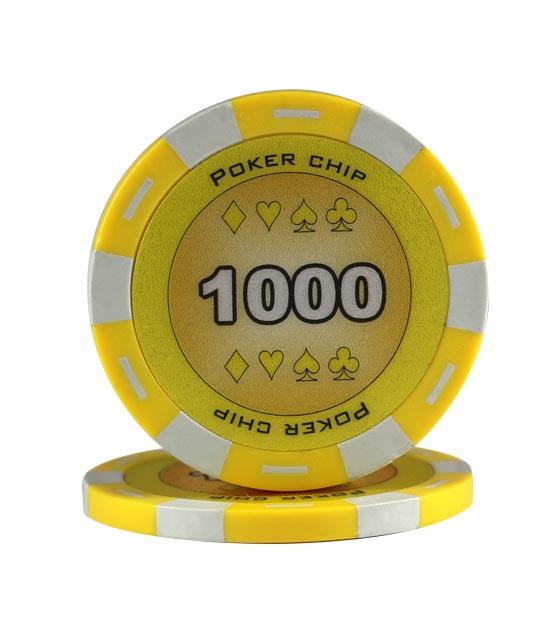 11,5g King Chips 1000er Gelb