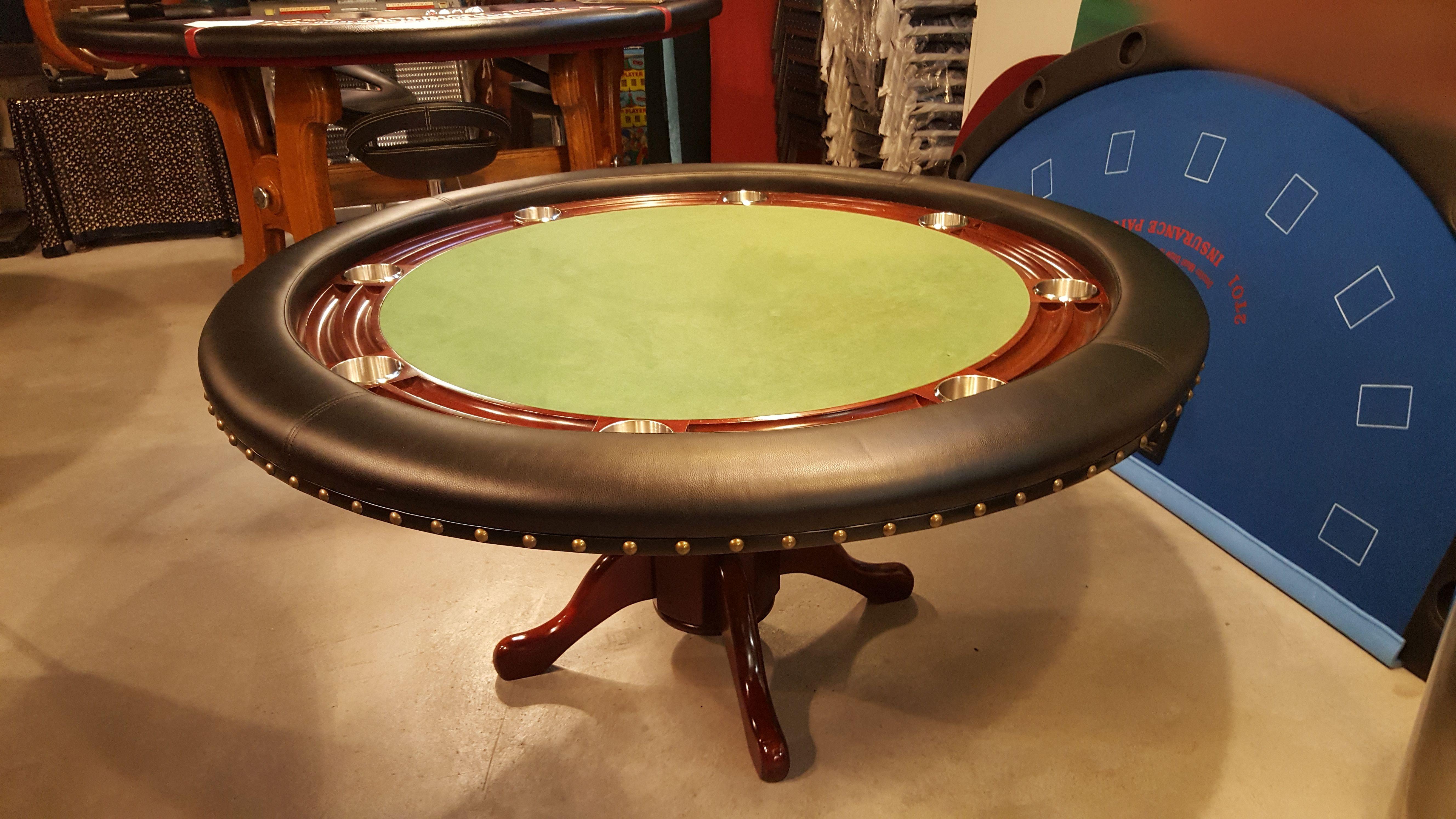Occ. Pokertisch Birmingham Rund 150cm
