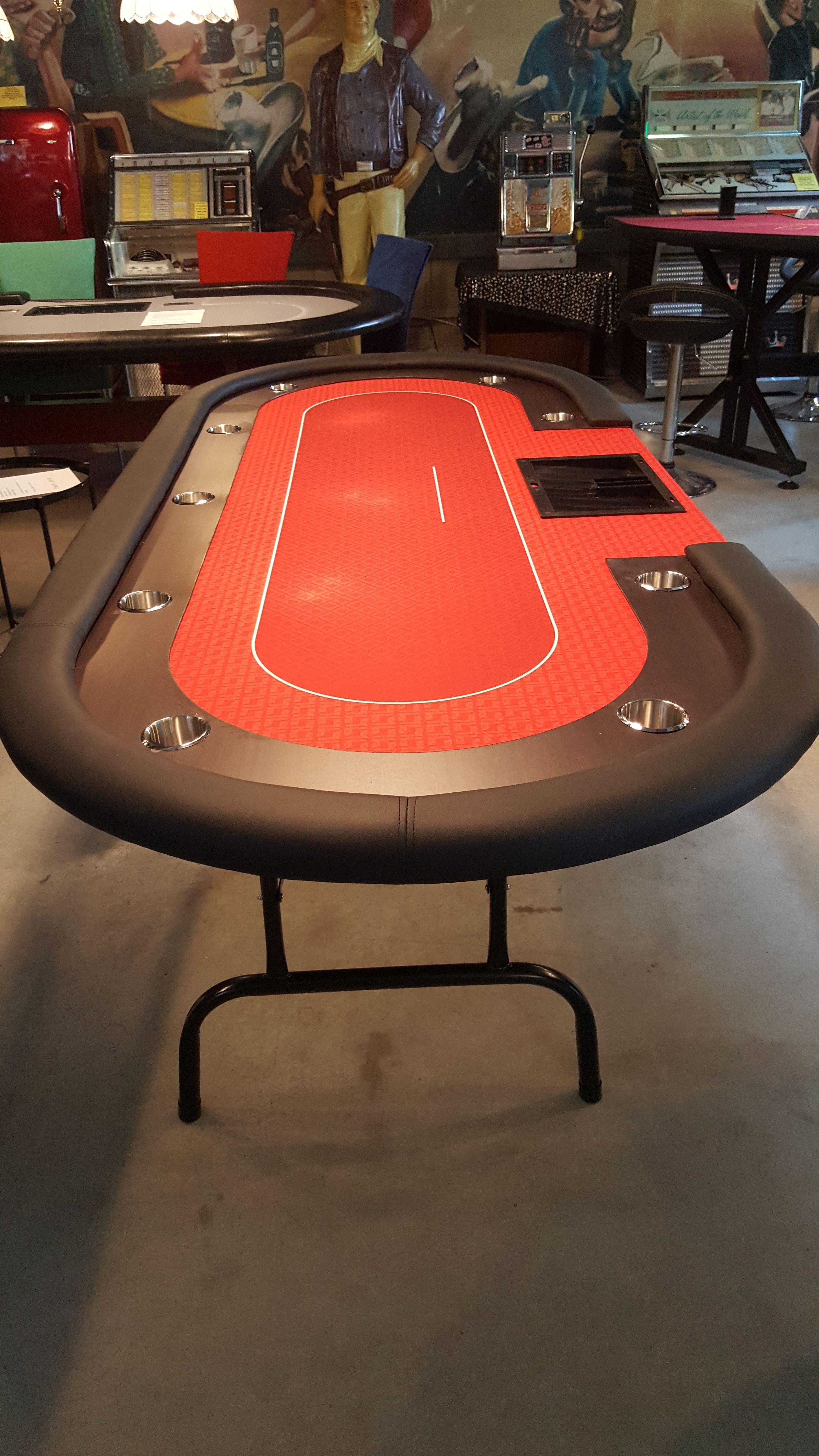 Pokertisch mit Klappbeinen