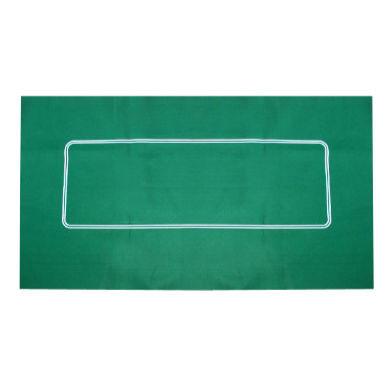 Pokertuch grün Filz 90 x 180