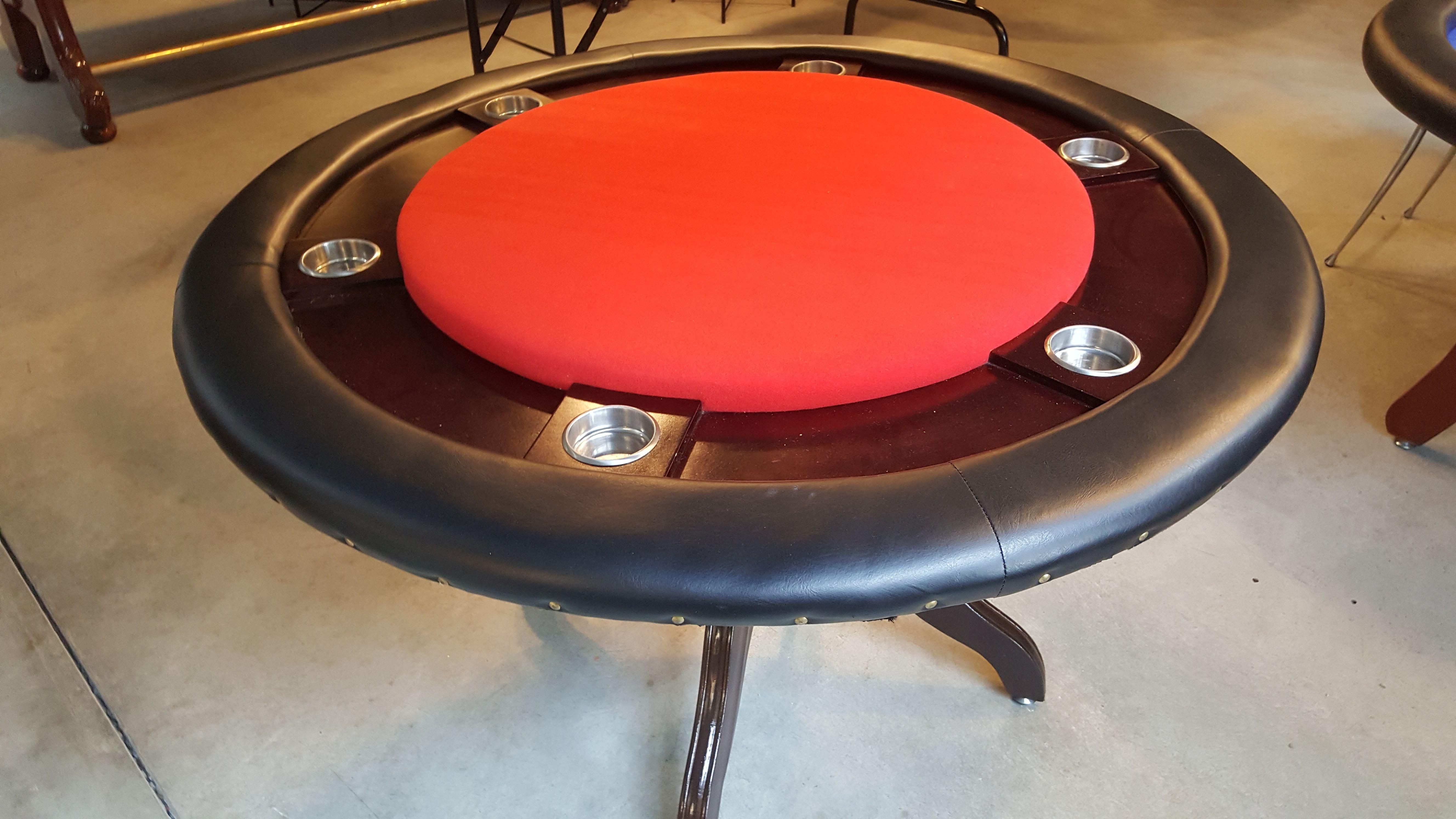 Occ. Pokertisch 120cm Durchmesser rund