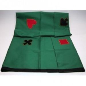 Spieltuch für Poker Bridge Jassen etc. 120 x 120cm